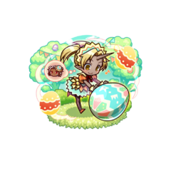 Auro 【Easter Kindness】 as an Ogre Mixblood