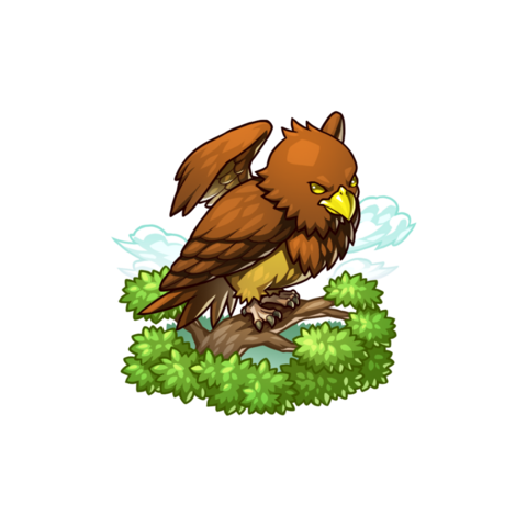 A Falaise Eagle in the mobile game