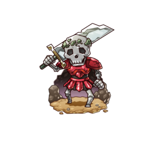 A Greater Skeleton in the mobile game