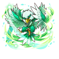 The Jade Eagle in the mobile game