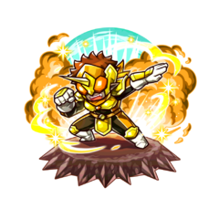 The Yellow Paraberanger as a Karma Oni in the mobile game