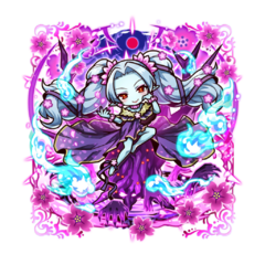 Kanami 【Moonlit Sakura Dream】 as an Ice Blood True Vampire