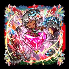 Opushii as a Treasured Beast Demon Princess
