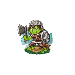 Gobukichi as a Hobgoblin in the mobile game