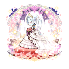 Kanami 【Pure White Bride】 as an Ice Blood True Vampire