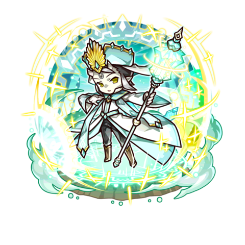 Seiji as a Sereness King in the mobile game