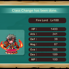 Your MC as a Fire Lord in the mobile game