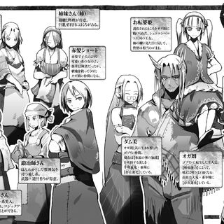 Vol. 3 characters
