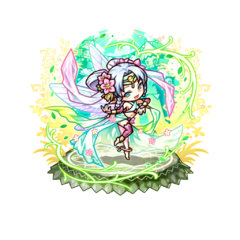 Mail 【Blessing Dancer】 as Shrine Maiden of Sala doing the Dancing of Blessing