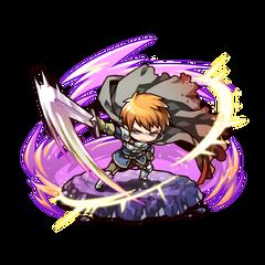 Avenger (Hero of Sunlight) before facing Rou