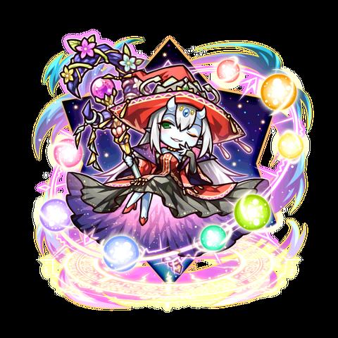 Sei as a Spiritan Queen in the mobile game