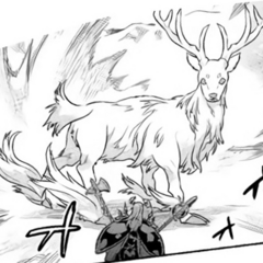 The White Stag taking notice of Ogarou