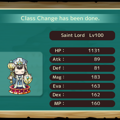 Your MC as a Saint Lord in the mobile game