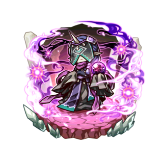 Genki as a Vision Lord in the mobile game