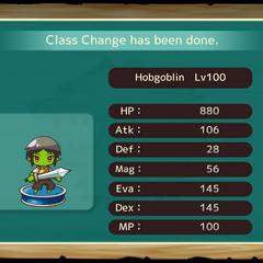 Your MC as a Hobgoblin in the mobile game