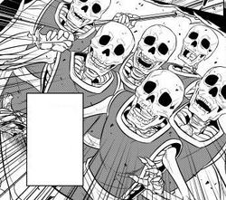 Skeletons manga