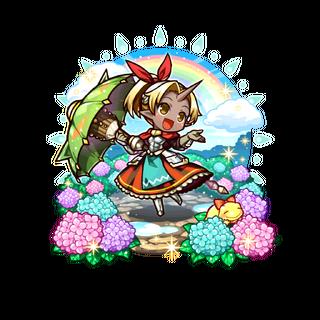 Auro 【Rainbow Princess after the Rain】 as a Magic Gun User as an Ogre Mixblood