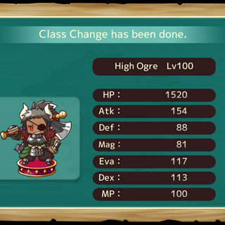 Your MC as a High Ogre in the mobile game