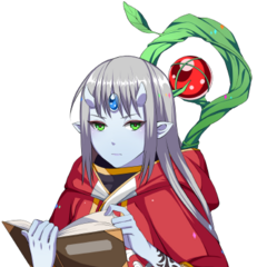 Supesei as an Half-Spell Lord in the dialogs