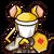 Icon 0833 GoldenRat