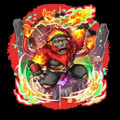 Galdra Ebra (Boss Monkey) as an Impervious Blaze Monkey
