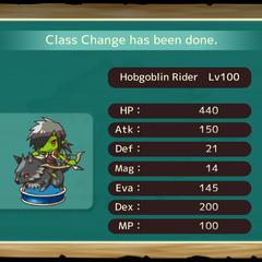 Your MC as a Hobgoblin Rider in the mobile game