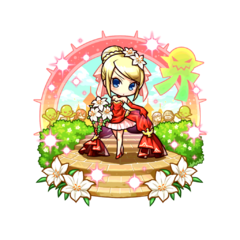 Therese 【Crimson Dress Bride】