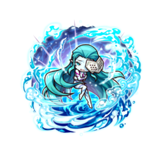 Grief Charybdis (the boss of the 30th floor  of the Aquarium Forlia dungeon)