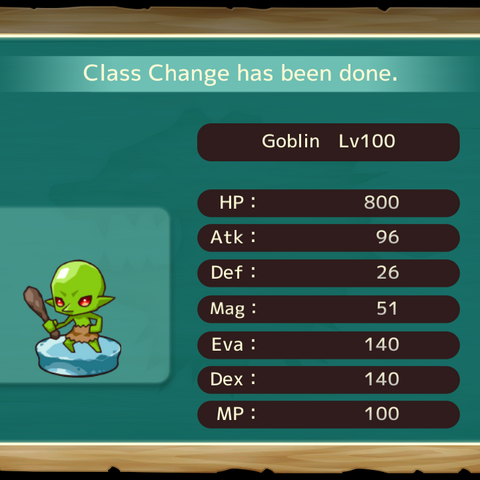 Your MC as a Goblin in the mobile game