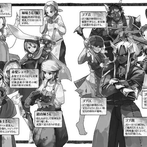 Vol. 1 characters