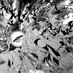 Kanami using intermediate undead summoning