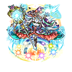 Supesei as a Spiritian Queen in the mobile game
