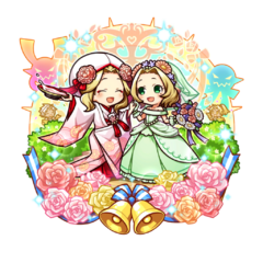 Alma & Felicia 【Two Blossoming Brides】 as Consorts of the Overlord