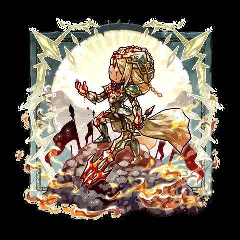 Ruskatia (Defender of War Souls) in the mobile game