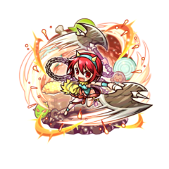 Rubellia 【Green Mother Oni】 with the title of Red Deadly Fury