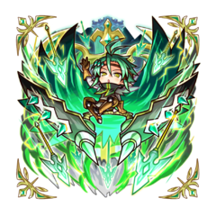 The God of Storms in the mobile game