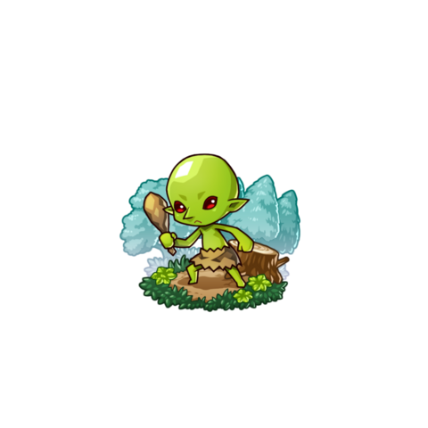 A Goblin in the mobile game