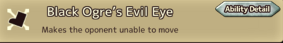 Black Ogre's Evil Eye