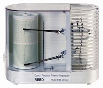 Reed thr series thermo-hygrometer chart recorders main