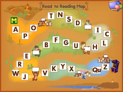 RoadToReadingMap