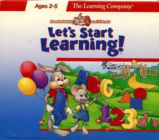 File:Reader Rabbit and Friends- Let's Start Learning cover.jpg