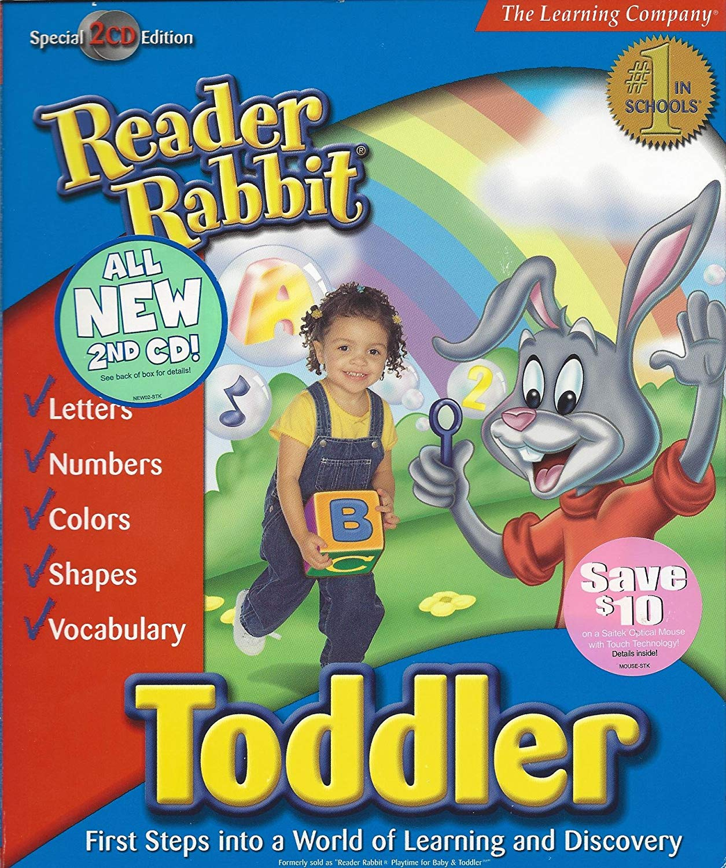Reader Rabbit Toddler 2-CD