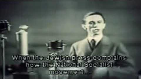 Goebbels on the jewish media