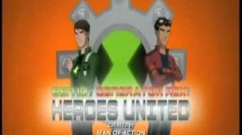 Ben 10 Generator Rex Heroes United Theme Song