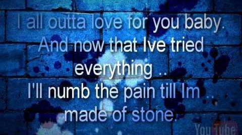 "Evanescence - Made of stone 2011 ""Lyrics"""