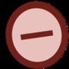 Symbol oppose vote