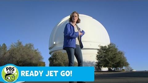 READY JET GO! Telescope PBS KIDS