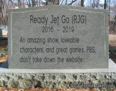 Goodbye RJG