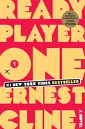 Ready Player One US Hardback cover
