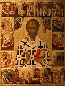 Icon c 1500 St Nicholas